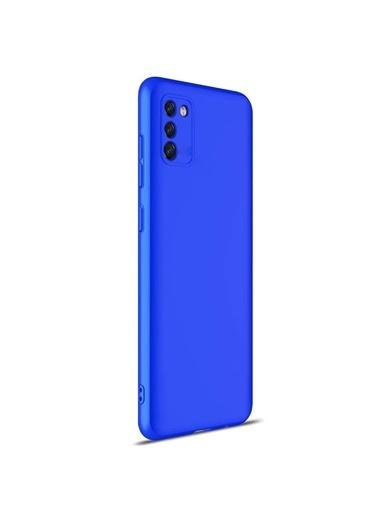 Microsonic Samsung Galaxy S20 Fe Kılıf Double Dip 360 Protective Mavi Mavi